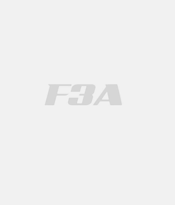 Gator-RC Flow-Thru Spinner 75mm Black 3 inches